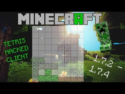 Minecraft 1.7.2 – 1.7.5 : Hacked Client – Tetris – GOD OF PVP [HD]