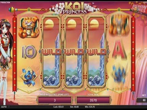 Koi Princess - Wild Reels Feature!