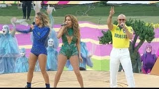 FIFA World Cup 2014 Opening Ceremony   Pitbull&Jennifer Lopez   BRAZIL Full Video
