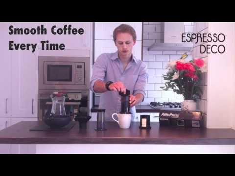 AeroPress Coffee Maker: What? How? | Espresso Deco UK