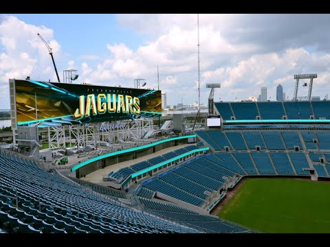 World Biggest Scoreboards – Jacksonville Jaguars