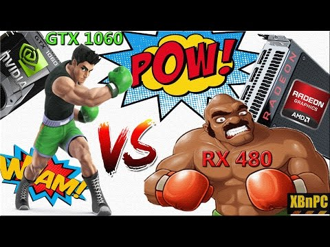 XBnPC - NVidia GTX 1060 Founder's Edition Vs AMD Reference RX 480!! EVERYTHING You Need To Know :D