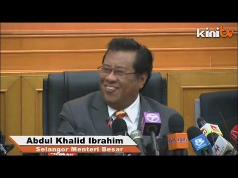 Kedudukan Anwar sebagai penasihat ekonomi, Khalid tersenyum