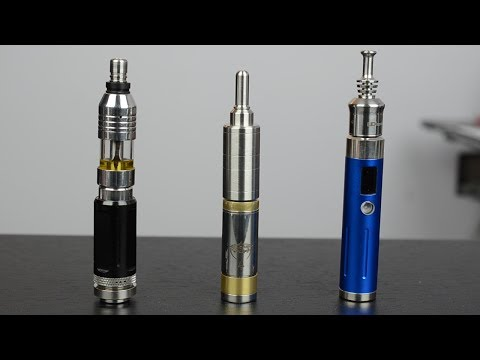 atomizers - Rebuildable atomizers (RBA/RDA) and variable mods for beginners. We look at mechanical and variable voltage/variable wattage mods; and three types of RBAs, g...