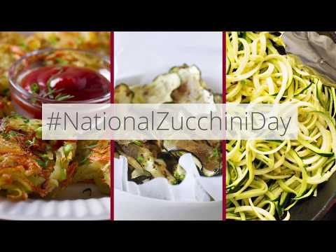 Atkins diet - Zucchini Three Ways