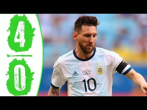 Argentina vs Mexico 4-0 - All Goals & Extended Highlights - 2019