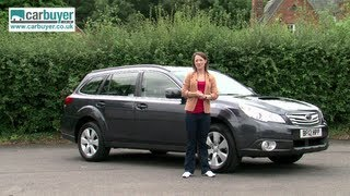 Subaru Outback Estate Review - CarBuyer