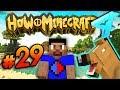 HORSE BREEDING! - HOW TO MINECRAFT S4 #29