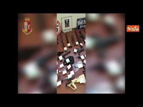 Sequestrato arsenale con armi da guerra a gruppo di estremisti di destra a Torino