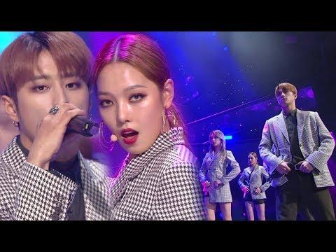 《MOURNFUL》 KARD(카드) - You In Me @인기가요 Inkigayo 20171210 (видео)