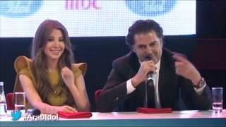 "Arab Idol -أحلام تهدد راغب: ""يا ويلك مني"" وراغب يرد"