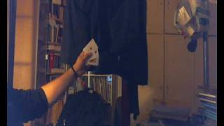 Card Manipulation - Backpalming Demo - (