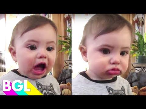 தவழும் குழந்தைகள் பேசும் அதிசயம்  !!!  Baby First Words! | Try Not To Laugh Challenge