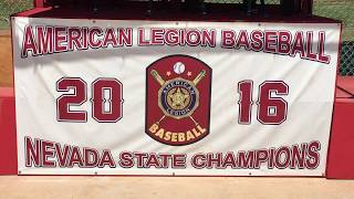 The Las Vegas Aces won last year's American Legion state championship, and will need to get through the undefeated Nevada Blue Sox if they are to repeat. (Justin Emerson/Las Vegas Review-Journal)