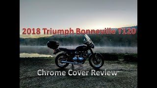 8. Water Cooled Bonneville Chrome Cover Review