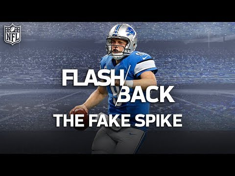 Video: The Best Fake Spikes Throughout NFL History: Marino, Rodgers and More! | NFL Highlights