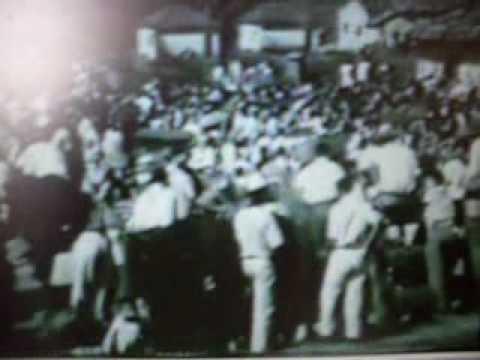 Churrasco em Piraju na década de 50