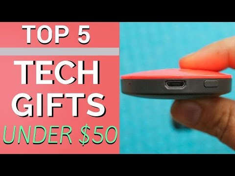 Video Top 5 Tech Gifts Under $50! download in MP3, 3GP, MP4, WEBM, AVI, FLV January 2017
