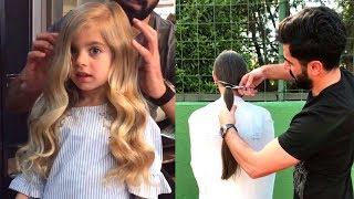 Professional Hairstyles Compilation  Best Hair Transformation by @emreayaksiz