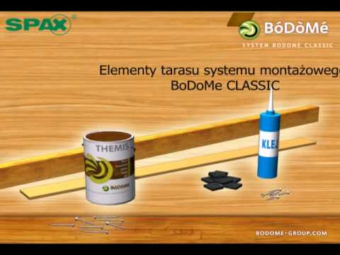Montaż tarasu BoDoMe Classic