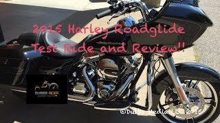8. 2015 Harley Davidson Roadglide Special Ride and Re