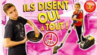 ILS DISENT OUI À TOUT PENDANT 24H !!! - YES MAN CHALLENGE