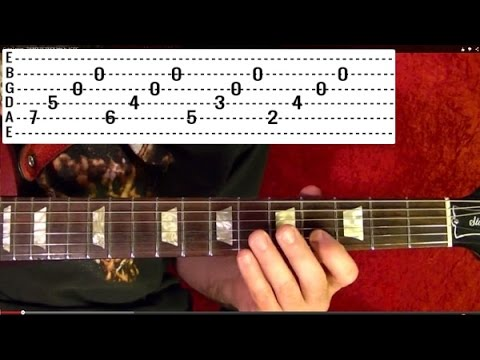 Jim croce time in a bottle easy guitar lesson with tabs