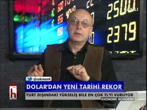 Dr. Cüneyt Akman'la Ekonomi: Dolar'dan yeni tarihi rekor