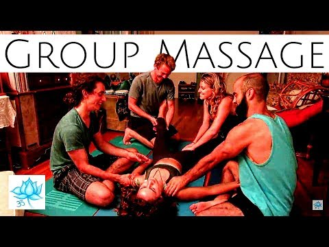 Five Person Group Massage x10