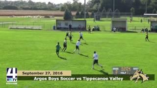 TVHS Soccer vs Argos Dragons