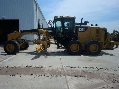 CATERPILLAR MOTOR GRADERS 140M2 equipment video INLsCg8dgVQ