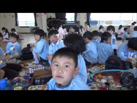 ともべ幼稚園「最後のおにぎりお弁当の日」