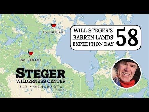 Barren Lands – Steger Solo 2018 – Day 58
