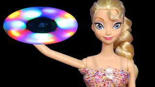 Glow in the Dark Spinners ! Elsa & Anna toddlers - Fidget Spinner