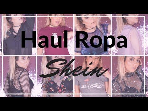 HAUL DE ROPA TRANSPARENTE Y MÁS: SHEIN | UNA TAL PUI видео