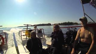 Dive Destination:The Vickery and America, Rockport Ontario