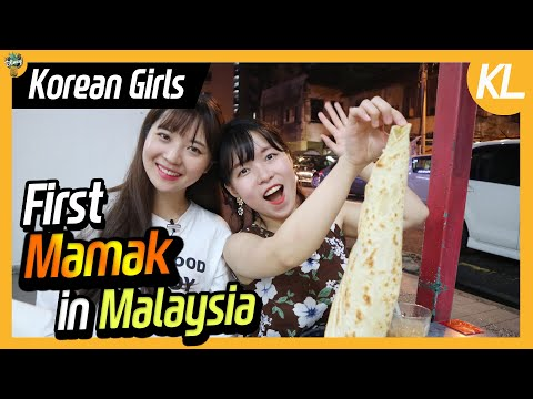 Korean girls went to mamak for the first time!! l Blimey in KL Ep.13