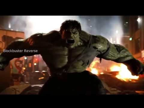 Hulk Vs Abomination Fight Scene In Reverese