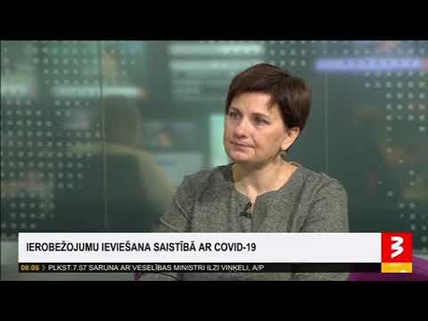 Saruna ar veselības ministri Ilzi Viņķeli par COVID-19 ierobežošanas pasākumiem
