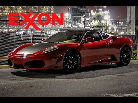 EXXON KICKED US OUT AT TX2K18 FOR TAKING PICTURES OF OUR FERRARI F430!!