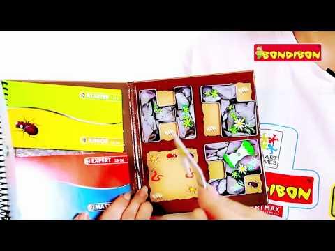 Видео - Деловые жуки (магнитная головоломка)