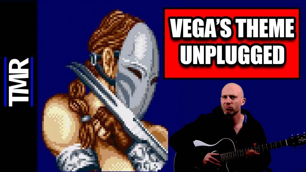 Vega's Theme Street Fighter 2 | Acoustic Guitar Cover (Miller Plays Guitar)