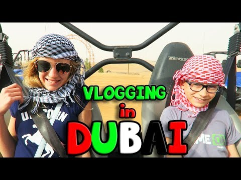 Vlogging in DUBAI