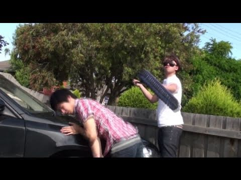 Bogan song and bloopers - vlog #2ne1