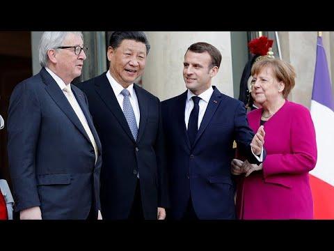 Γαλλία: Ευρωπαϊκό «μέτωπο» στη συνάντηση με τον Σι Τζινπίνγκ…