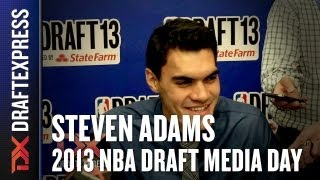 Steven Adams - 2013 NBA Draft Media Day Interview