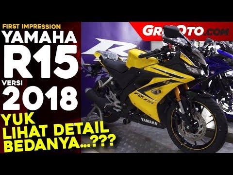 Yamaha R15 2018 l First Impression l GridOto