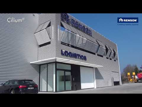 Cilium Louver Promotion Video by Renson