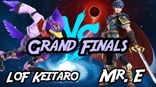Clutch set! LoF Keitaro (Falco) vs SS Mr. E (Marth) S4E 28 GFs [Wii U/3DS]