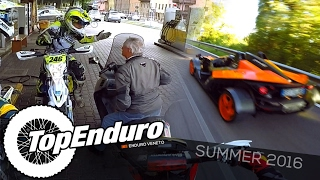8. A Crazy Enduro Summer || Husqvarna WR 300 vs KTM X-Bow + ANGRY OLD MAN